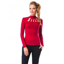 фото Водолазка Mondigo 417. Цвет: бордовый. Размер одежды: 44