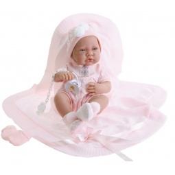 Купить Кукла-младенец Munecas Antonio Juan «Тони в розовом»
