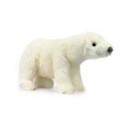 фото Мягкая игрушка для ребенка Hansa «Белый медведь идущий»