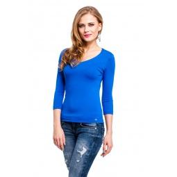 фото Кофта Mondigo 052. Цвет: синий. Размер одежды: 46
