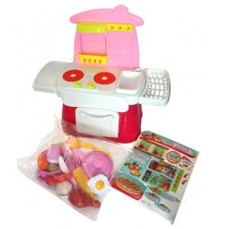 фото Игровой набор для девочки Maxitoys «Кухня с аксессуарами»