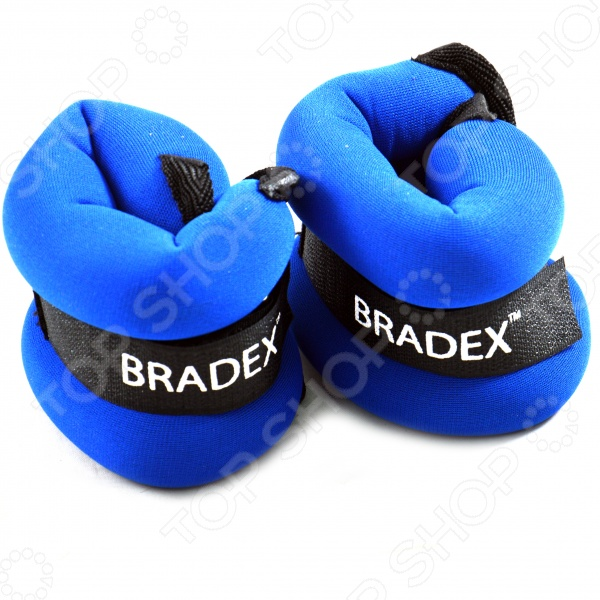 Утяжелители для ног и рук Bradex «Геракл» скандинавская ходьба дневник тренировок питания и достижений