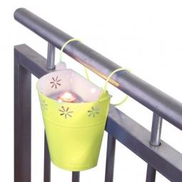 фото Подсвечник для балкона MyBalconia Buckycandle. Цвет: серый