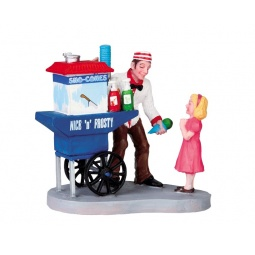 фото Фигурка керамическая Lemax «Лавка мороженщика»