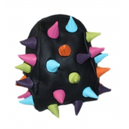 фото Сумка - термо ланч бокс MadPax Rex Nibblers Multicolor. Цвет: черный, голубой, бирюзовый, оранжевый