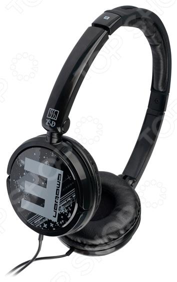 Наушники накладные T&amp;amp;D HP 550Наушники<br>Наушники накладные T D HP 550 отличные наушники для прослушивания медиа-файлов. Обладает чистым звуком на всем диапазоне, мягкие и глубокие басы сделают прослушивание более приятным, а амбушюры обеспечат неплохую шумоизоляцию, не причиняя дискомфорт.<br>