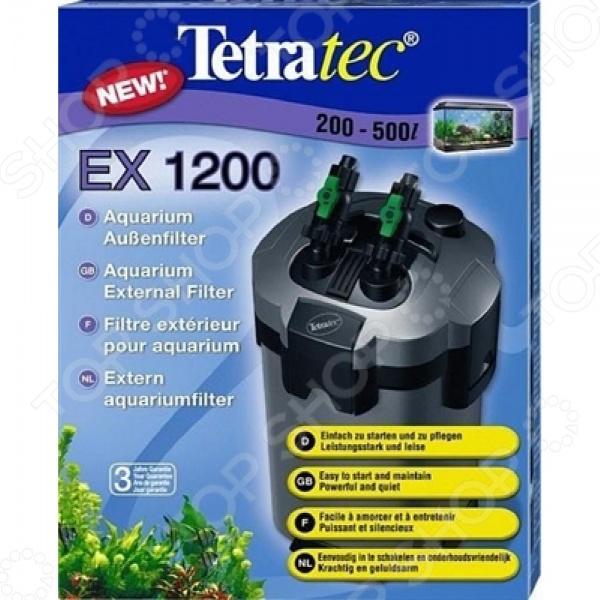 Фильтр внешний для аквариума Tetra Tetratec EXЭлектрооборудование для аквариума<br>Фильтр внешний для аквариума Tetra Tetratec EX комплект из 5-ти фильтрующих наполнителей: керамические кольца, био-губка, био-шарики, угольный наполнитель для удаления вредных органических примесей и волокнистая прокладка. Такая фильтрующая система необходима каждому обладателю аквариума, так как она превосходно справляется с комплексной очисткой, подготовкой водопроводной воды к проживанию в ней рыб, а также обогащению необходимыми микроэлементами. Фильтр не издает много шума, абсолютно безвреден для здоровья обитателей аквариума.<br>