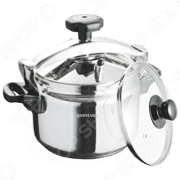 Скороварка Bohmann 35 - современная помощница на любой кухне, в ней можно делать вкусную пищу для всей семьи. Это многофункциональная модель, способная заменить очень много кухонных принадлежностей. Скороварка из высококачественной нержавеющей стали значительно сэкономит вам время при утреней готовке. Оснащена защитой от сильного давления и возможности взрыва. С этим приспособлением, вам не придется просиживать кучу времени за плитой, а большой спектр возможностей для приготовления блюд, разнообразит повседневное меню. Вы удивитесь сколько всего можно приготовить на пару. Из представленного ассортимента можно выбрать нужную вам модель.