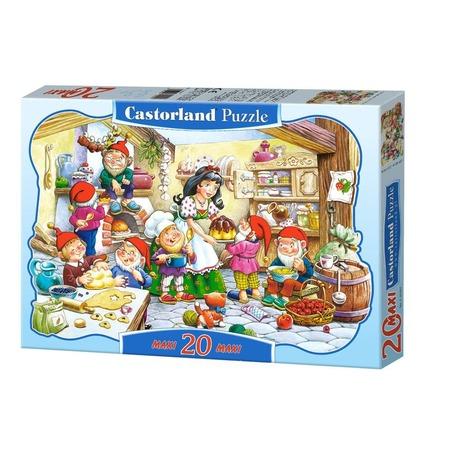 Купить Пазл 20 элементов Castorland «Белоснежка»