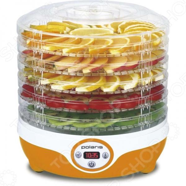 Сушилка для овощей и фруктов Polaris PFD 0605AD сушка для овощей polaris pfd 0905d