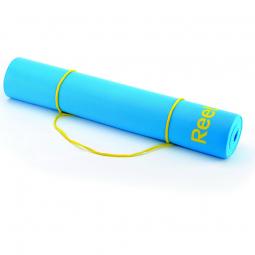фото Мат для йоги Reebok Elements. Цвет: голубой