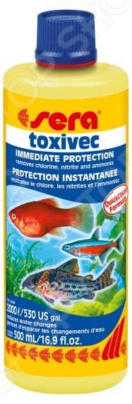 Средство для нейтрализации ядов в аквариумной воде Sera Toxivec