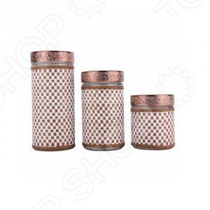 Фото - Набор банок для хранения Zeidan Z-1190 [супермаркет] jingdong геб scybe фил приблизительно круглая чашка установлена в вертикальном положении стеклянной чашки 290мла 6 z