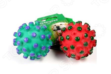 Игрушка для собак Beeztees «Мяч с шипами» 620120. В ассортименте трикси игрушка для собак щенок 8 см латекс цвет в ассортименте