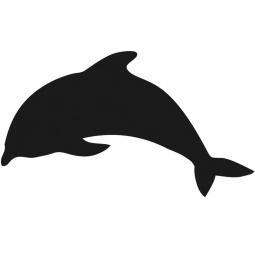 фото Набор: доска для заметок меловая и маркер Securit «Дельфин»