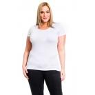 Фото Футболка Mondigo XL 8543. Цвет: белый. Размер одежды: 50