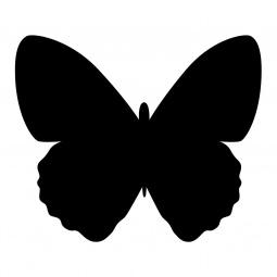 фото Набор: доска для заметок меловая и маркер Securit «Бабочка»