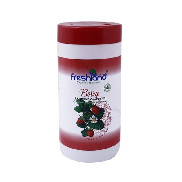 фото Набор салфеток влажных универсальных Freshland PK-850166-30 Berry