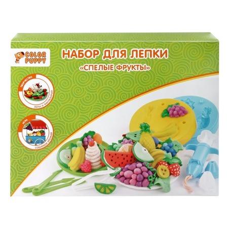 Купить Набор для лепки Color Puppy «Спелые фрукты»