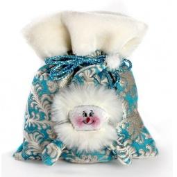 фото Мешок для подарков Новогодняя сказка «Снеговик» 971980