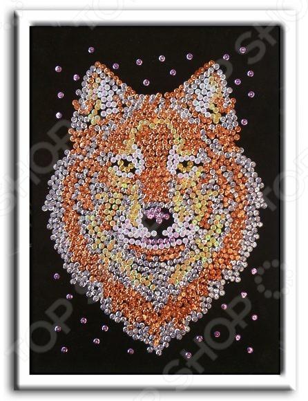 Мозаика из пайеток Волшебная мастерская «Волк»