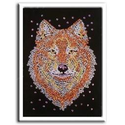 фото Мозаика из пайеток Волшебная мастерская «Волк»