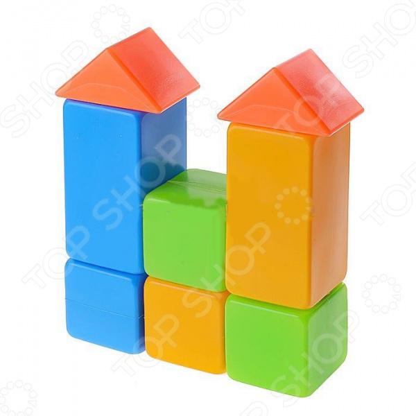 Конструктор для ребенка Нордпласт «Кубики 8»Другие виды конструкторов<br>Конструктор для ребенка Нордпласт Кубики 8 - яркий набор пластмассовых кубиков, который надолго займет внимание вашего малыша и не даст ему скучать. В комплект входят 8 красочных, цветных блоков, которые позволят малышу самостоятельно создавать самые разнообразные постройки, развивая при этом логическое и пространственное мышление, внимательность, мелкую моторику рук и координацию движений. Изделия выполнены из высококачественного пластика, который совершенно безопасен для детского здоровья.<br>