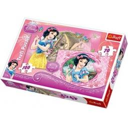 Купить Набор пазлов 2 в 1 Trefl «Прекрасные Принцессы»
