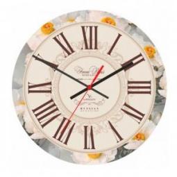 фото Часы настенные Вега А 1-20 «Цветочная классика»
