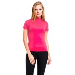 фото Водолазка Mondigo 216. Цвет: ярко-розовый. Размер одежды: 44