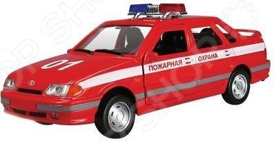 Машинка металлическая Autotime «ЛАДА 115. Пожарная охрана»Модели авто<br>Машинка ЛАДА 115. Пожарная охрана представляет собой точную копию настоящего служебного автомобиля. Коллекционная модель выпущена известной компанией по производству игрушек Autotime. Особенность коллекции в том, что все модели изготовлены по лицензии именитых автопроизводителей. Машина изготовлена из металла с элементами пластика и оснащена инерционным механизмом, что сделает игровой процесс еще более захватывающим. У нее открываются передние двери, вращаются колеса. Яркий автомобиль разнообразит игровые ситуации, откроет новые сюжеты для маленького автолюбителя и поможет развить воображение, мелкую моторику рук, внимание и координацию движений. Не упустите шанс порадовать ребенка замечательным подарком!<br>