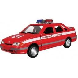 фото Машинка металлическая Autotime «ЛАДА 115. Пожарная охрана»