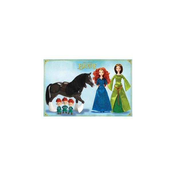 фото Набор подарочный Mattel «Королевство Мериды и Принцесса с нарядом Magiclip». В ассортименте