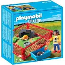 фото Конструктор игровой Playmobil «Ветеринарная клиника: Загон для черепах»
