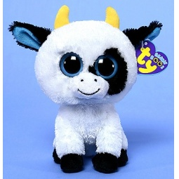 фото Мягкая игрушка TY Корова DAISY. Высота: 16 см