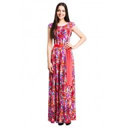 фото Платье Mondigo 7062-3. Цвет: бледно-розовый. Размер одежды: 48