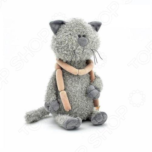 Мягкая игрушка Fluffy Family «Кот Обормот с сосисками» кот в мешке время играть