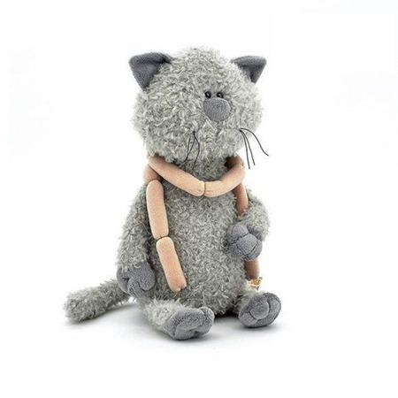 Купить Мягкая игрушка Fluffy Family «Кот Обормот с сосисками»