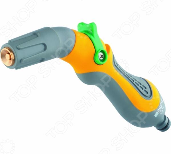 Пистолет-распылитель PALISAD LUXE 65172Пистолеты для полива<br>Пистолет-распылитель PALISAD LUXE 65172 функциональное приспособление, которые облегчает процесс полива огорода, сада или приусадебного участка. Пистолет-распылитель выполнен из ударопрочного материала, который гарантирует долгий срок эксплуатации приспособления. Предусмотрена плавная регулировка напора: от сильной струи до мелкодисперсного распыления, в зависимости от поставленной задачи, также предусмотрена полная остановка подачи воды. Эргономичная конструкция позволяет удобно его держать одной рукой.<br>