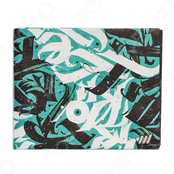 Бумажник New wallet CalligraphyКошельки. Портмоне<br>Бумажник New wallet Calligraphy стильный и оригинальный аксессуар, который должен быть у каждого модника. Аксессуар выполнен из уникального, супер-современного микроволокна Tyvek, удивительно похожего на бумагу, но и при этом очень прочного и долговечного. Этот материал к тому же непроницаем, поэтому его содержимое всегда под надежной защитой от излишней влаги. Бумажник очень компактен и мало весит 15 грамм, поэтому он с комфортом разместится у вас в кармане брюк или во внутреннем кармане куртки, пиджака. Такой аксессуар надолго сохранит свой яркий внешний вид, так как не теряет своих свойств и функциональности даже после нескольких лет активного использования. Бумажник включает в себя:  2 больших отделения для наличных и чеков;  2 отделения для кредитных и дисконтных карт, которые дополнительно расширяются;  2 внешних вместительных кармана. Несмотря на свои совсем скромные размеры 8х10х0,5 в сложенном состоянии, аксессуар может значительно расширяться и вмещать в себя все, что вам потребуется. Так, вы сможете легко сложить 16 пластиковых карт, и это не предел его возможностей!<br>