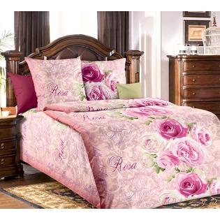 Купить Комплект постельного белья Белиссимо «Аромат розы». 1,5-спальный