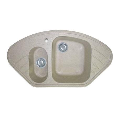 Купить Мойка кухонная GranFest Corner GF-C960E. Цвет: серый