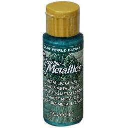 фото Глазурь DecoArt Dazzling Metallics. Цвет: бирюзовая патина