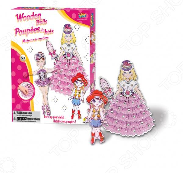 Набор для создания нарядов Bojeux Кукла станет отличным подарком для маленькой рукодельницы, ведь с ним она сможет придумывать и создавать прекрасные наряды для деревянной куколки. В наборе есть все необходимое для работы: три деревянные куклы, одежда, аксессуары и подробная инструкция. Набор поможет девочке развить такие навыки как аккуратность, внимательность и творческое мышление.