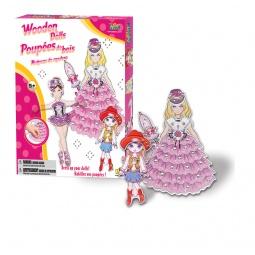 Купить Набор для создания нарядов Bojeux «Кукла»