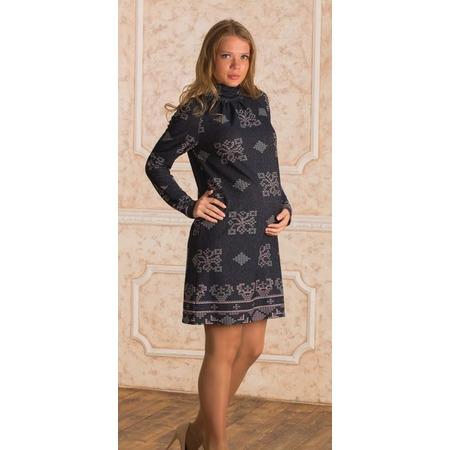 Купить Платье для беременных Nuova Vita 2106.01. Цвет: темно-синий