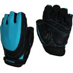 фото Перчатки для фитнеса Atemi AFG-06. Цвет: синий, черный. Размер: L