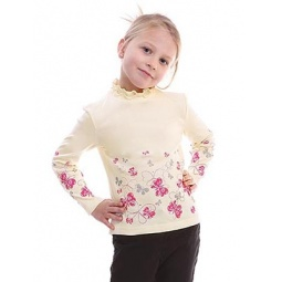 фото Водолазка для девочки Свитанак 857449. Рост: 98 см. Размер: 28