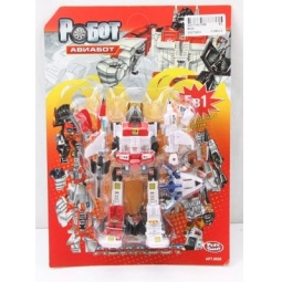 фото Игрушка-трансформер PlaySmart «Робот. Авиабот 5в1»