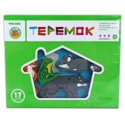 Купить Конструктор для ребенка Томик «Теремок» 22214